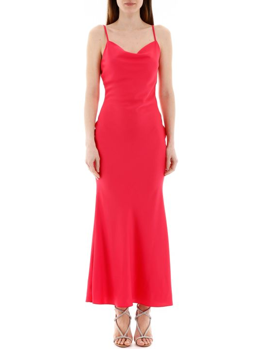 In The Mood For Love Long Satin Dress