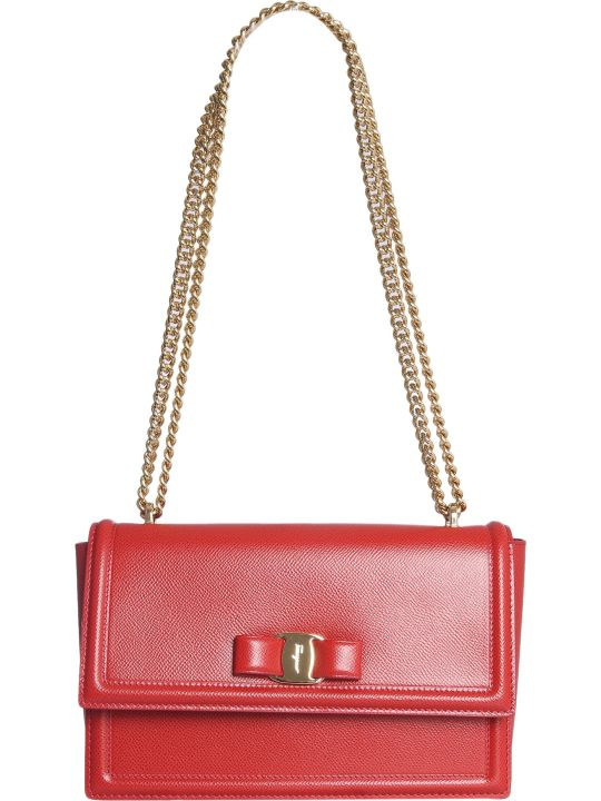 Salvatore Ferragamo Bag With Bow Detail