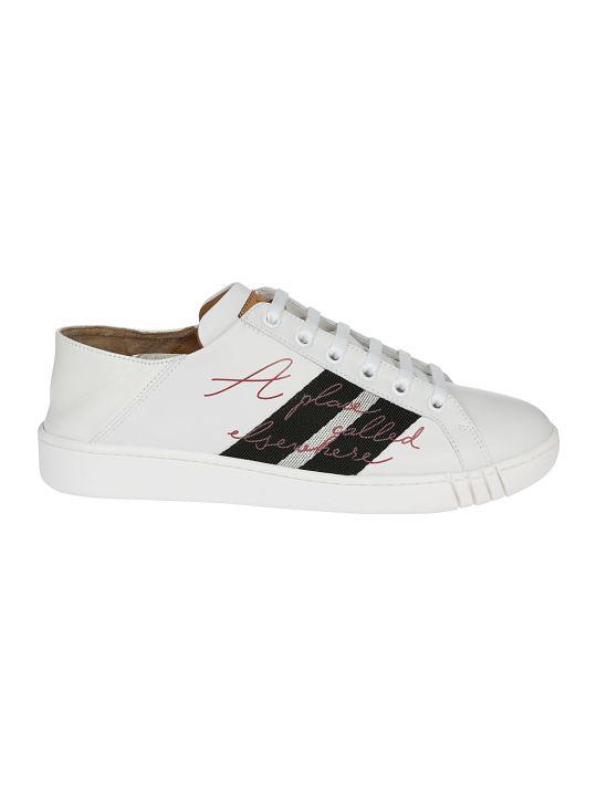 Bally Wisen Printed Detail Sneakers