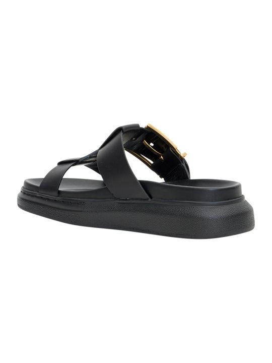 Alexander McQueen Hybrid Sandals With Oversized Sole