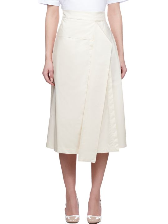 SportMax High Waisted Midi Skirt
