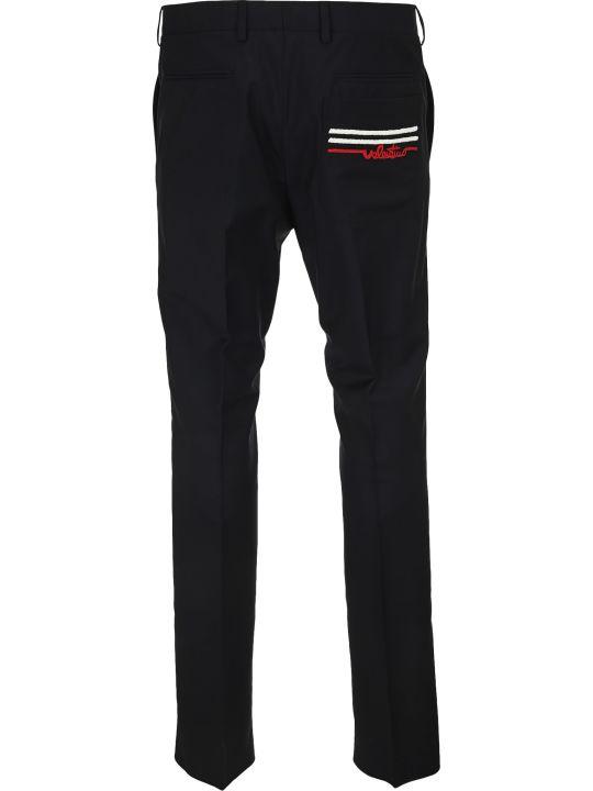 Valentino Beads Logo Pants
