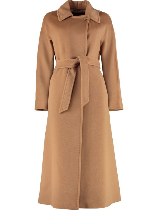Max Mara Studio Didone Wool Long Coat
