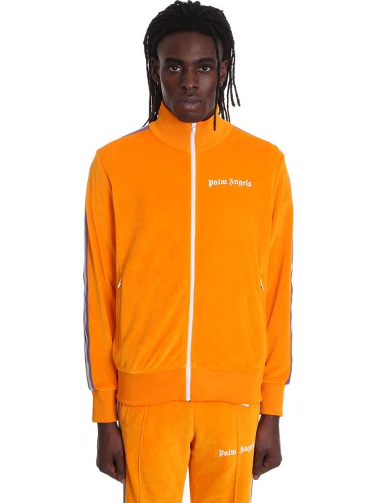 Palm Angels Sweatshirt In Orange Cotton