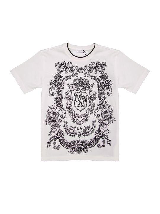 Dolce & Gabbana Dna Short Sleeved Tshirt