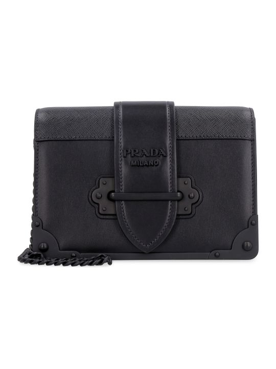 Prada Prada Cahier Leather Mini-bag