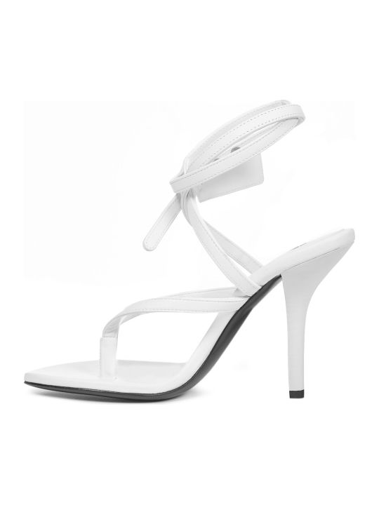 Off-White Ziptie Sandals