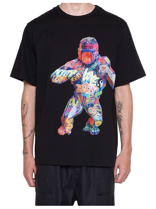 Juun.J 'richard Orlinski Gorilla' T-shirt