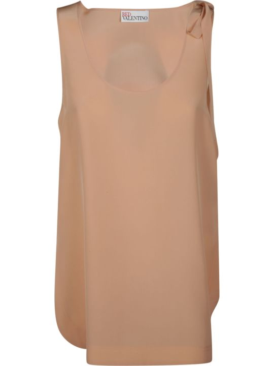 RED Valentino Bow Detail Tank Top