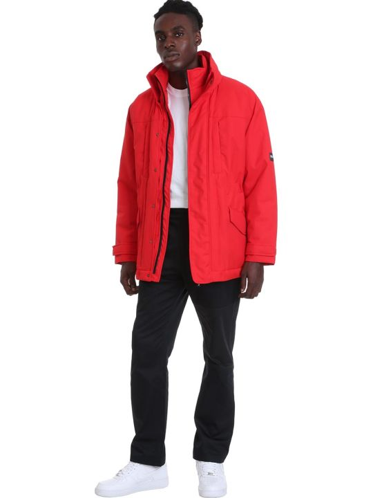 Napa By Martine Rose A-andean Clothing In Red Polyamide
