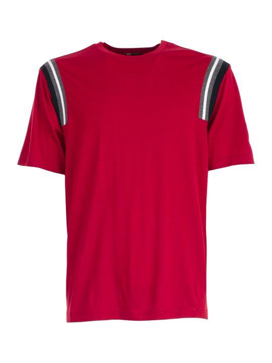 Z Zegna Essential Stripe Detail T-shirt