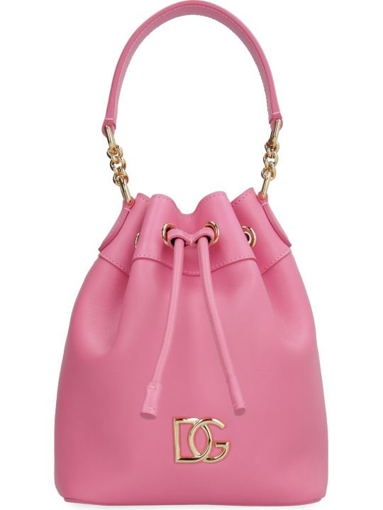 Dolce & Gabbana Dg Millennials Leather Bucket Bag