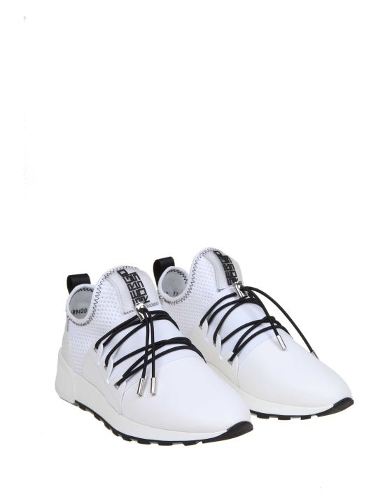 Sergio Rossi Fabric Sneakers