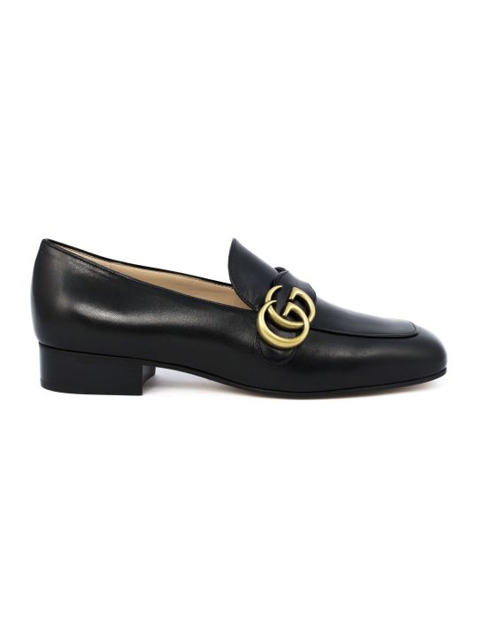 Gucci Black Leather Loafer