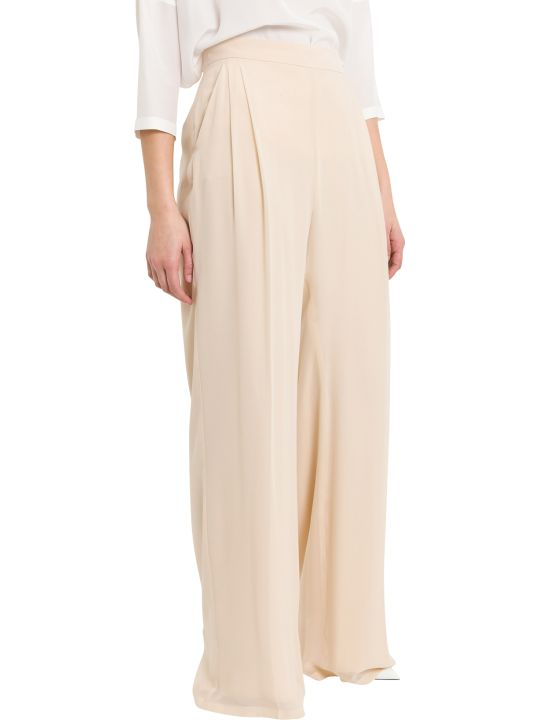 Max Mara Nuble Silk Georgette Trousers