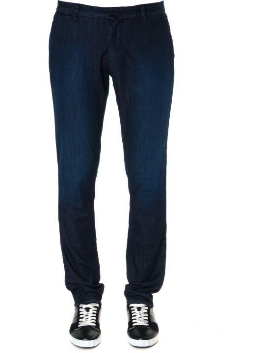 Emporio Armani Dark Blue Denim Jeans