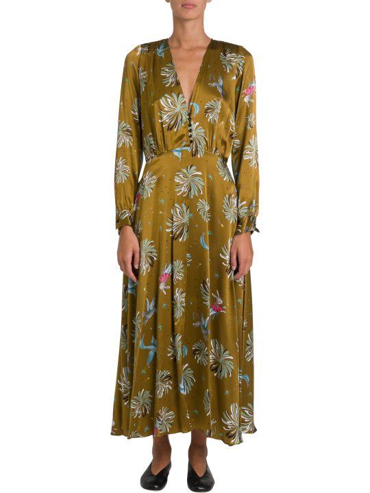 Forte_Forte Printed Silk Long Dress