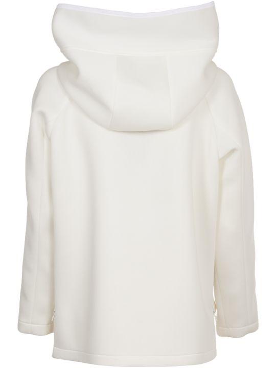 Peuterey White Neoprene Jacket