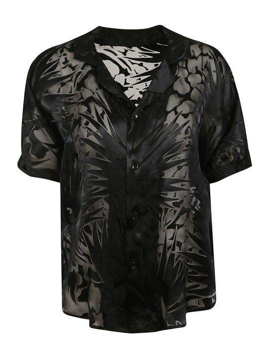 Saint Laurent Semi See-through Shirt