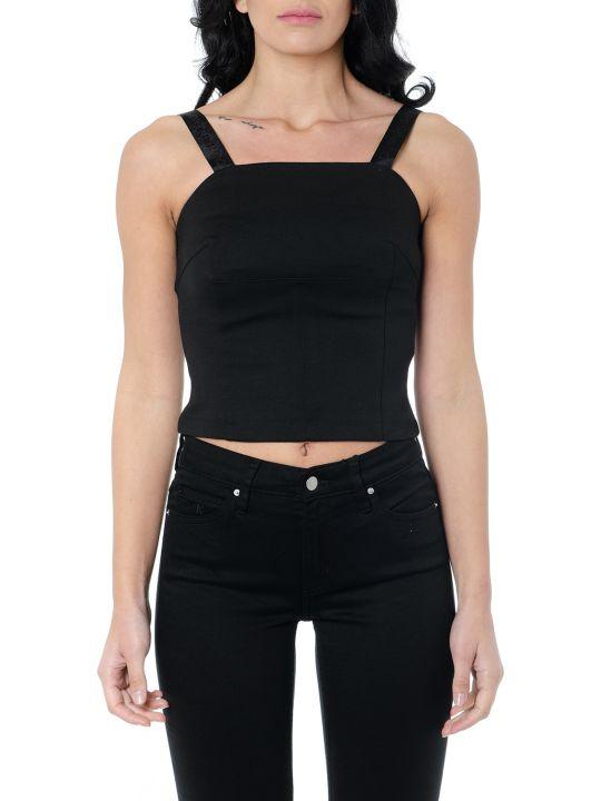 Calvin Klein Black Crepe Tank Top