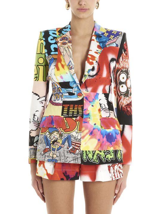 Moschino 'patchwork' Blazer