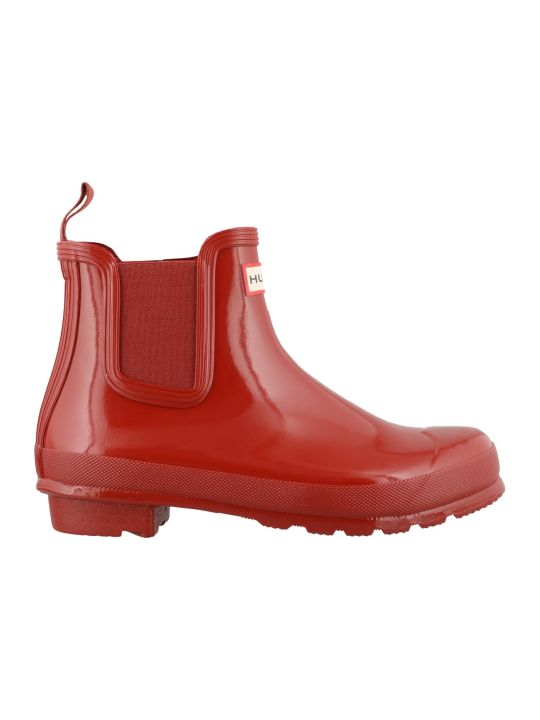 Hunter Original Chelsea Gloss Boots