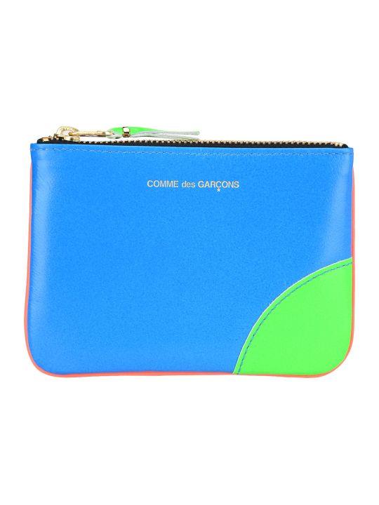 Comme des Garçons Wallet Comme Des Garcons Wallet Color Block Fluo Pouch