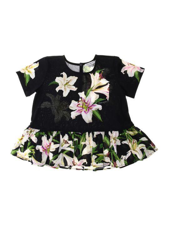 Dolce & Gabbana T-shirt Manica Corta Gigli
