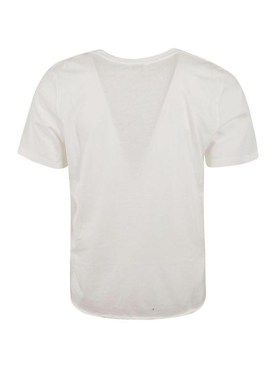Saint Laurent Front Tropical Print T-shirt