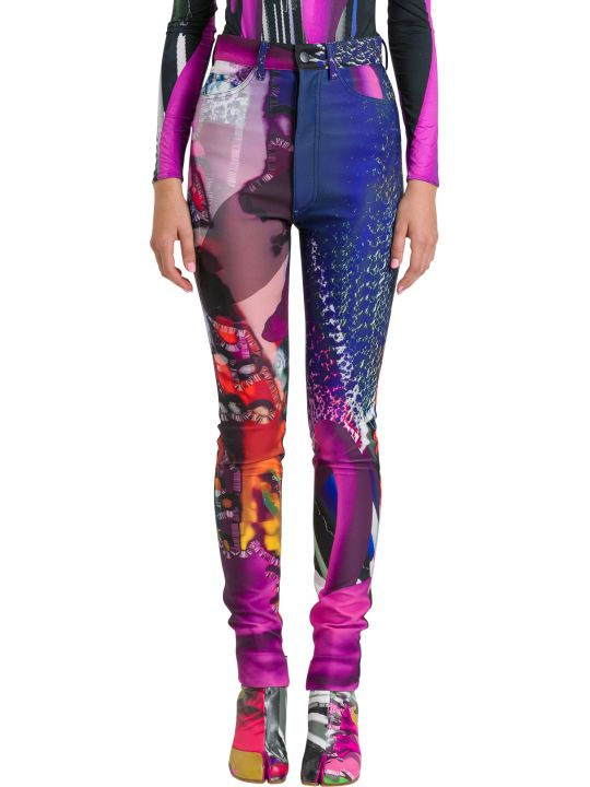 Maison Margiela Psychedelic Skinny Trousers