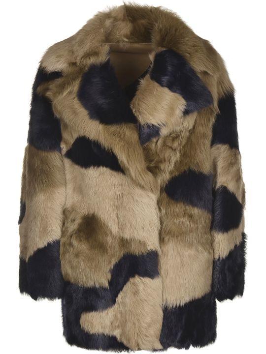 Blancha Reversible Fur Coat