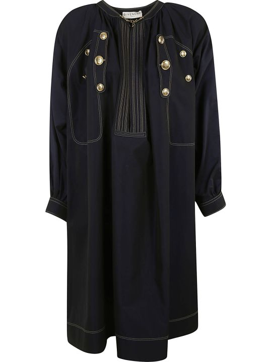 Givenchy Button-embellished Dress