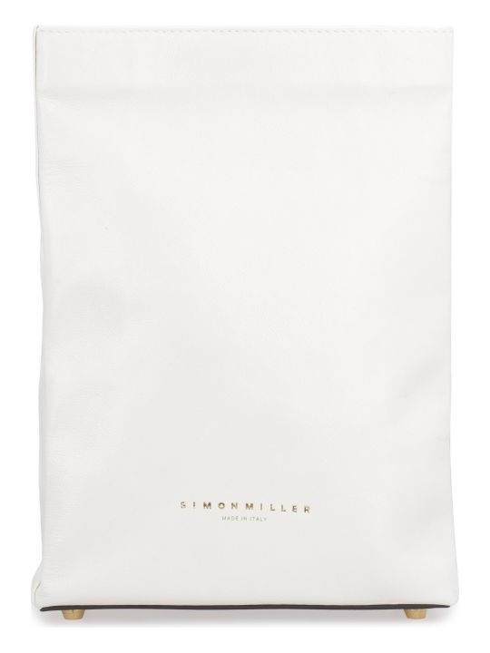 Simon Miller Leather S809 Lunch Bag Clutch