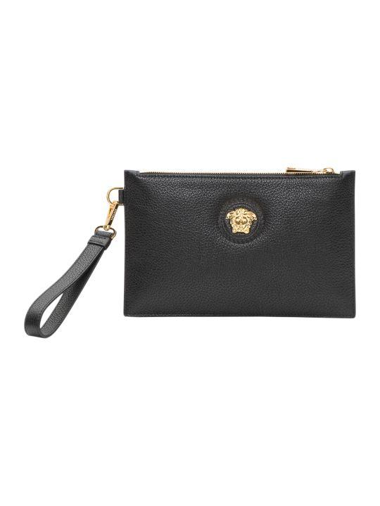 Versace Wristlet Clutch Bag