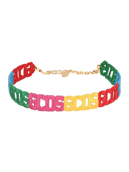 GCDS Crochet Necklace