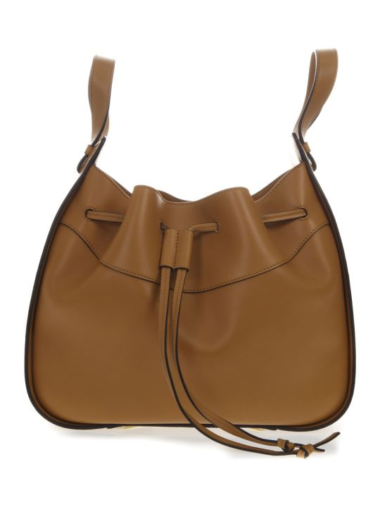 Loewe Hammock Medium Bag In Caramel  Leather