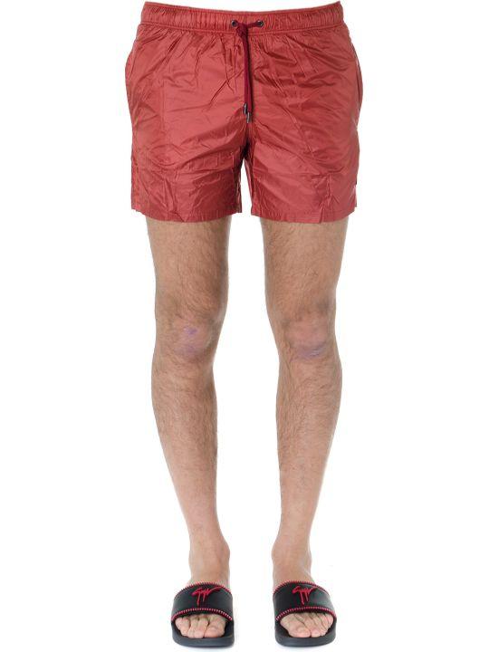 Ermenegildo Zegna Red Nylon Swim Short