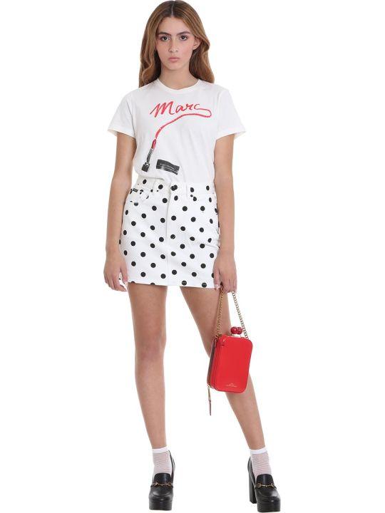 Marc Jacobs Skirt In White Denim
