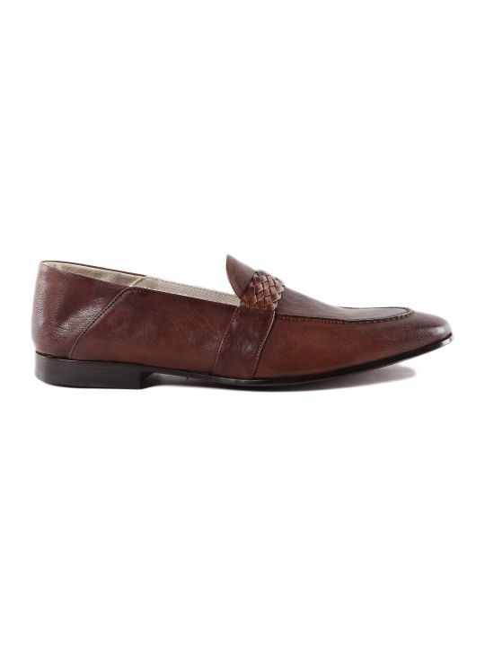 Moreschi Woven Loafers