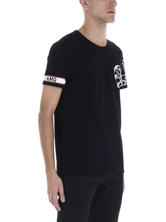 Alexander McQueen 'motorcycle Skull' T-shirt