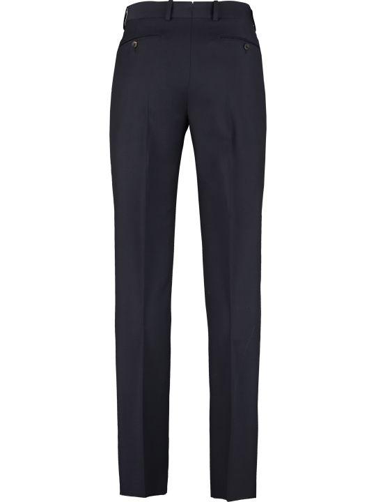 Alexander McQueen Wool-mohair Blend Trousers