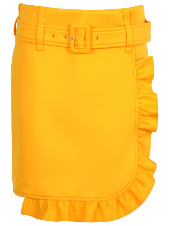 Prada Skirt Ruffle