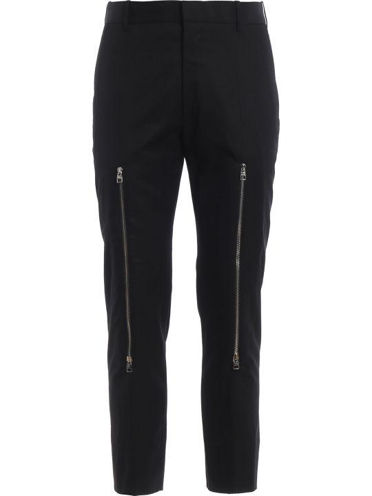 Alexander McQueen Zipped Trousers