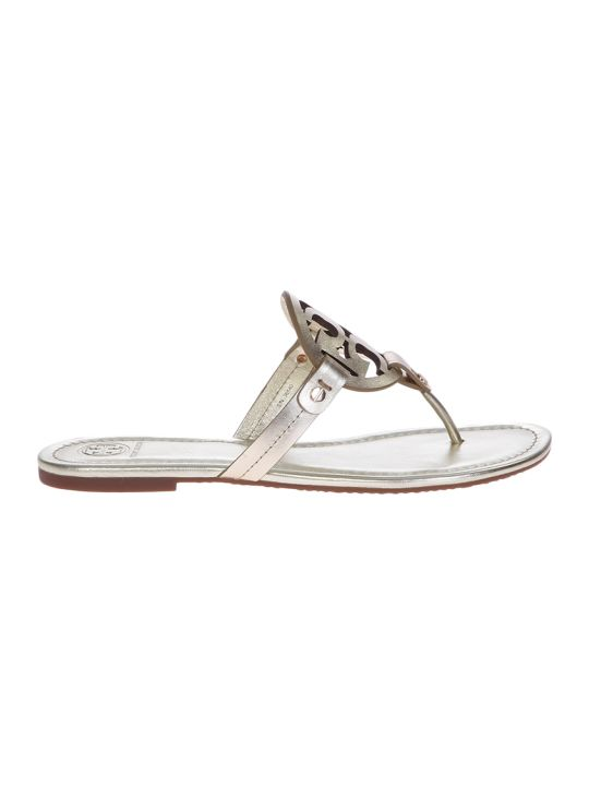Tory Burch Metallic Miller Sandals