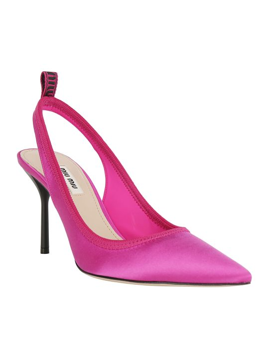 Miu Miu Slingback Shoes