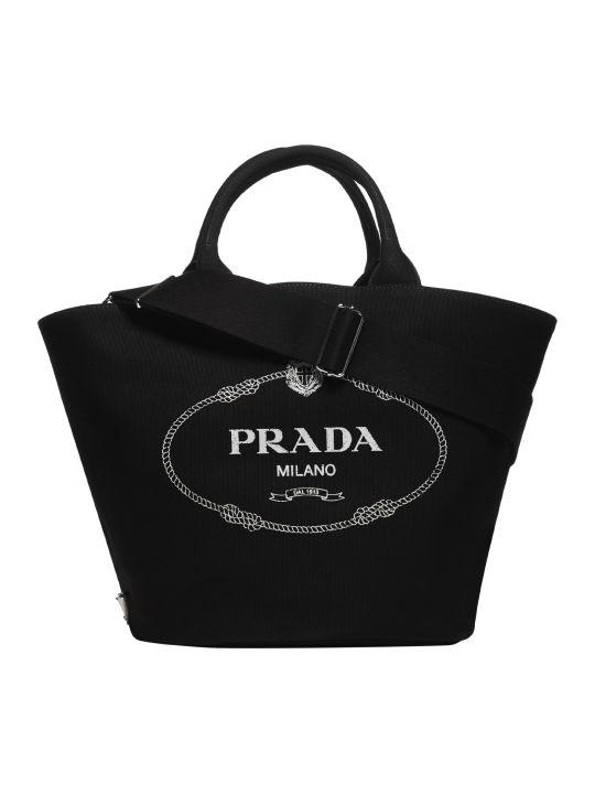 Prada Giardiniera Shopper Bag