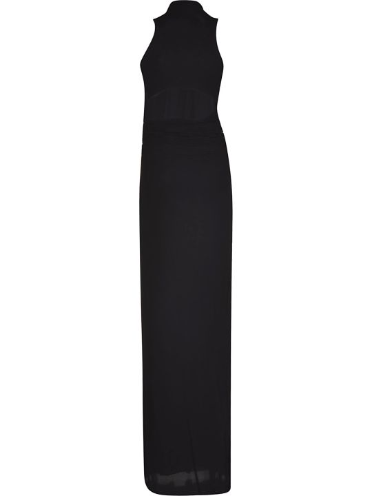 Rick Owens Lilies Ruched Detail Dress