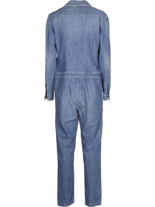 Fabiana Filippi Denim Jumpsuit