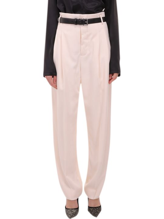 Haider Ackermann Cream Trousers