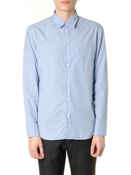 Maison Margiela Sky Color Cotton Shirt